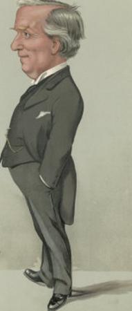 Herbert Henry Asquith Statesman by Spy (Leslie M. Ward)