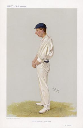 J L Tyldesley English Cricketer Who Achieved 46 Centuries in 11 Years by Spy (Leslie M. Ward)