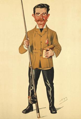 Mr Charles Black? by Spy (Leslie M. Ward)