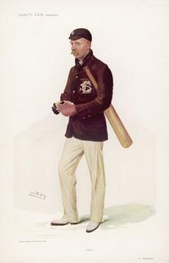 Thomas Hayward English Cricketer by Spy (Leslie M. Ward)