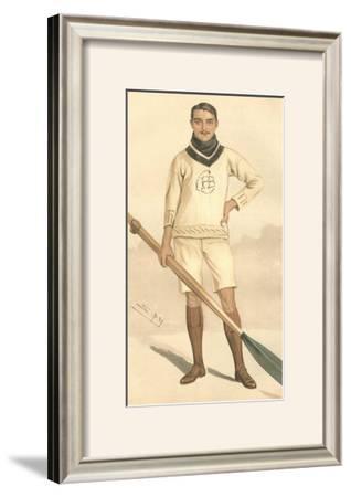 Vanity Fair Rowing by Spy (Leslie M. Ward)