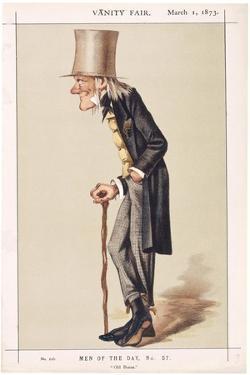 Professor Sir Richard Owen, Frs, Kcb, Naturalist, 1873 by Spy