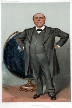 Robert Stawell Ball, British Astronomer, Mathematician, Lecturer and Populariser of Science, 1905 by Spy