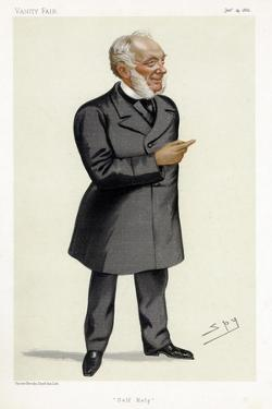 Samuel Smiles, Scottish Writer, Physician, Surgeon and Social Reformer, 1882 by Spy