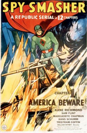 Spy Smasher, Kane Richmond in 'Chapter 1: America Beware', 1942