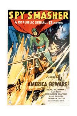 SPY SMASHER, Kane Richmond in 'Chapter 1: America Beware', 1942