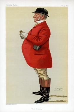 The General, 1881 by Spy