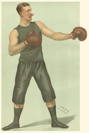 Vanity Fair Boxing by Spy
