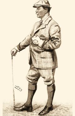 Vanity Fair Golfers III by Spy
