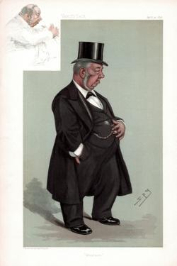 Whitehaven, Augustus Helder, British Politician, 1896 by Spy