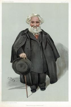 William Huggins, British Astronomer and Spectroscopist, 1903 by Spy