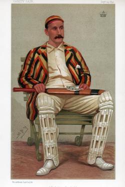 Yorkshire Cricket, 1892 by Spy
