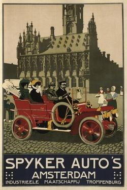 Spyker Auto Dutch 1910