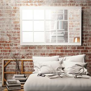 Square Mirror Wall Art - 32 Pieces