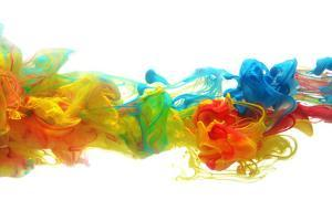 Colorful Ink in Water by SSilver