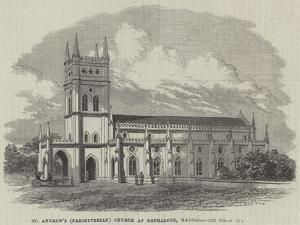 St Andrew's (Presbyterian) Church at Bangalore, Madras