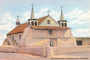 St. Augustine Church, Iselta Pueblo