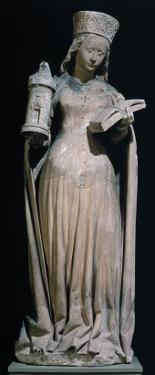 St. Barbara, 15th century