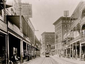 St. Charles St. I.E. Saint Charles Avenue, New Orleans, Louisiana