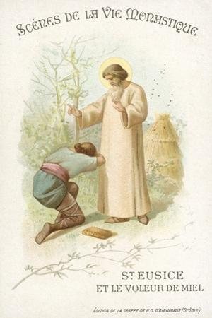 St Eusice and the Honey Thief
