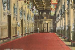 St. George Hall, Windsor Castle