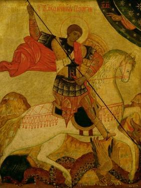 St. George, Russian Icon, 15th Century
