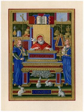 St Gregory the Great Receiving Inspiration from the Holy Spirit, C1490