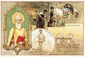 St Isidore, Patron Saint of Farmers and Day Labourers