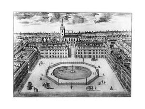 St James's Square, London, 18th Century