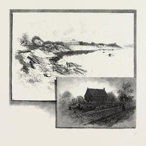 St. John's College (Top), St. John's Church (Bottom), Canada, Nineteenth Century