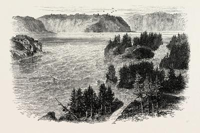 St. John's River, Frontiers of New Brunswick and Maine, North America, USA, 1870S