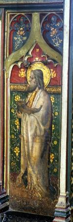 St. Jude, Detail of the Rood Screen, St. Agnes Church, Cawston. Norfolk, Uk