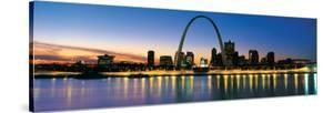 St. Louis Arch and Skyline at Night