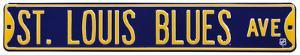 St Louis Blues Ave Steel Sign