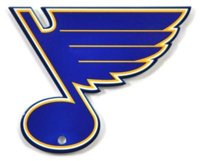 St. Louis Blues Steel Magnet