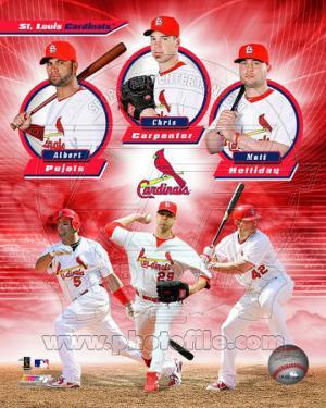 St. Louis Cardinals 2011 Triple Play Composite