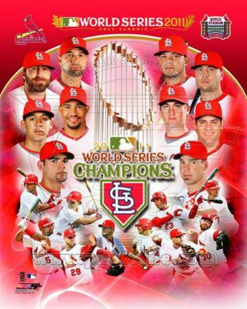 St. Louis Cardinals 2011 World Series Champions Composite