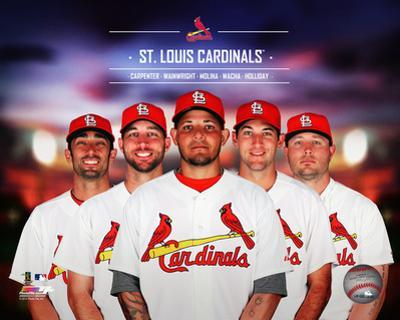St. Louis Cardinals 2014 Team Composite