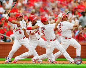 St.Louis Cardinals - Albert Pujols 2011 Multi Exposure