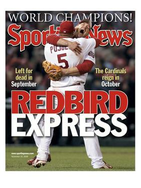 St. Louis Cardinals' Albert Pujols and Scott Rolen - November 10, 2006