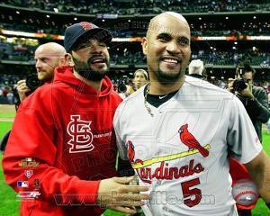 St Louis Cardinals - Albert Pujols, Jaime Garcia Photo