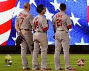St Louis Cardinals - Allen Craig, Jon Jay, Matt Holliday Photo