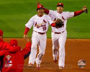 St Louis Cardinals - Allen Craig, Jon Jay Photo