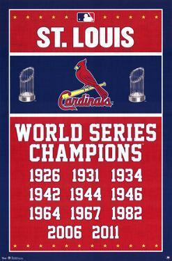 St. Louis Cardinals - Championships