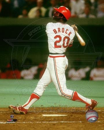 St Louis Cardinals - Lou Brock Photo