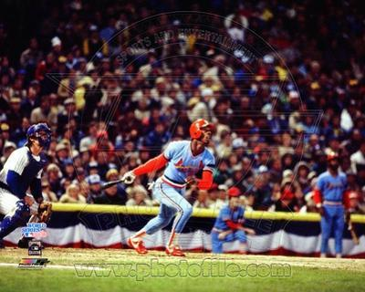 St Louis Cardinals - Willie McGee Photo