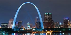 St. Louis Gateway Arch - Night