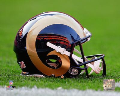 St. Louis Rams Helmet