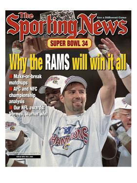 St. Louis Rams QB Kurt Warner - January 31, 2000