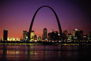 St. Louis Skyline including Gateway Arch